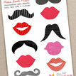 Full Set of Printable Photo Booth Props additional 2