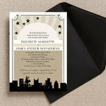 Vintage Hollywood Wedding Invitation additional 1
