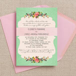 Vintage Trinkets Wedding Invitation additional 1