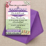 Vintage Vegas Wedding Invitation additional 1