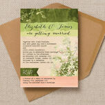 Wild Garden Wedding Invitation additional 1
