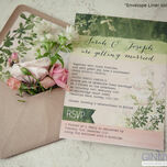 Wild Garden Wedding Invitation additional 3