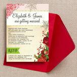 Winter Wonderland Wedding Invitation additional 1