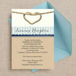 Nautical Knot Evening Reception Invitation additional 1