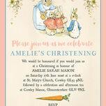 Flopsy Bunnies Beatrix Potter Christening / Baptism Invitation additional 4