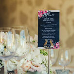 Rustic Floral Menu additional 2