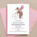 Circus Friends Birthday Party Invitation additional 5