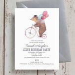 Circus Friends Birthday Party Invitation additional 6
