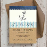 Nautical Knot Save the Date additional 3