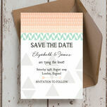 Pastel Bohemian Save the Date additional 5