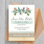 Rustic Botanical Save the Date additional 2