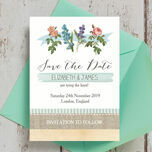 Rustic Botanical Save the Date additional 3