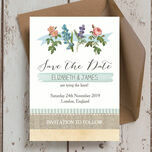 Rustic Botanical Save the Date additional 1