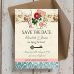 Vintage Scrapbook Save the Date additional 3