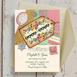Vintage Trinkets Save the Date additional 3