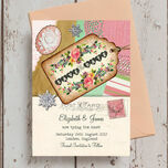 Vintage Trinkets Save the Date additional 5