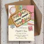 Vintage Trinkets Save the Date additional 1