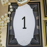 Art Deco Table Number additional 2