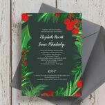 Winter Berries Wedding Invitation additional 2