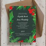 Winter Berries Wedding Invitation additional 4
