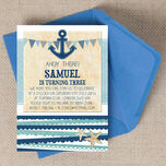 Nautical Party Invitation additional 1