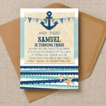 Nautical Party Invitation additional 2