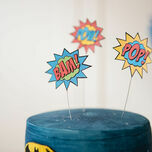 Printable Superhero Photo Booth Props additional 7