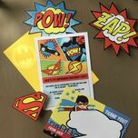 Printable Superhero Photo Booth Props additional 9