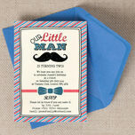 Little Man Party Invitation additional 1
