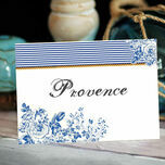 French Toile Table Name additional 2