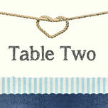 Nautical Knot Table Name additional 1