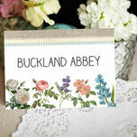 Rustic Botanical Table Name additional 2