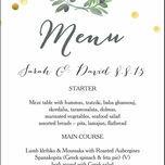Olive Wreath Menu additional 1