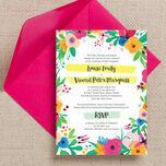 Floral Fiesta Wedding Invitation additional 1