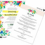Floral Fiesta Wedding Invitation additional 3