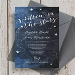 Midnight Stars Wedding Invitation additional 2