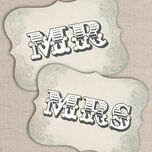 Printable Rustic Western Mr & Mrs Signs additional 1