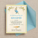Beatrix Potter Peter Rabbit Party Invitation additional 1