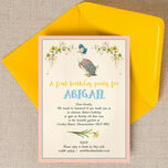 Beatrix Potter's Jemima Puddle-Duck Party Invitation additional 3