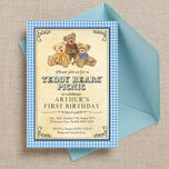 Teddy Bears' Picnic Kids Party Invitation additional 2