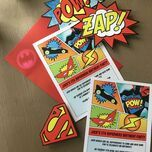 Superhero Children's Party Invitation additional 6