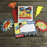 Superhero Children's Party Invitation additional 7