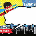 Personalised Superhero Thank You Cards additional 7