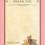 Teddy Bears' Picnic Thank You Cards additional 4