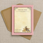 Teddy Bears' Picnic Thank You Cards additional 1
