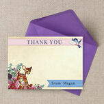 Vintage Deer Thank You Cards additional 3