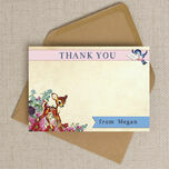 Vintage Deer Thank You Cards additional 4