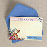 Vintage Deer Thank You Cards additional 2