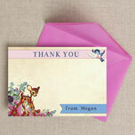 Vintage Deer Thank You Cards additional 1