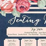 Rustic Floral Wedding Seating Plan additional 9